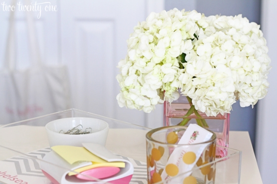 home-office-hydrangeas